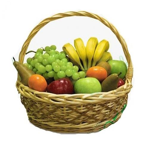 Купить на заказ Заказать Корзина с фруктами 4 с доставкой по Петропавловску  с доставкой в Петропавловске