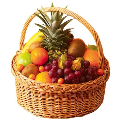 Купить на заказ Заказать Корзина с фруктами 2 с доставкой по Петропавловску  с доставкой в Петропавловске