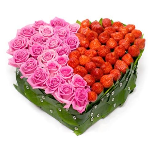 Купить на заказ Заказать Сердце 6 с доставкой по Петропавловску  с доставкой в Петропавловске