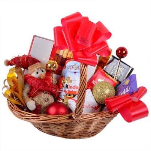 Купить на заказ Заказать Корзина с подарками с доставкой по Петропавловску  с доставкой в Петропавловске