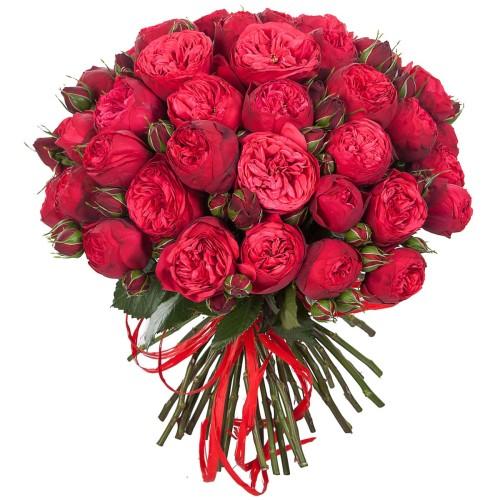 Купить на заказ Заказать Букет из 51 пионовидные розы с доставкой по Петропавловску  с доставкой в Петропавловске