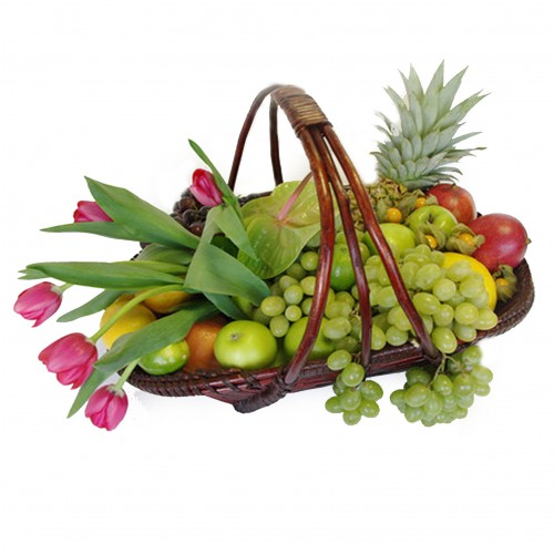 Купить на заказ Заказать Корзина с фруктами 3 с доставкой по Петропавловску  с доставкой в Петропавловске