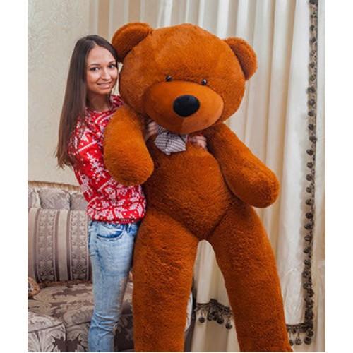 Купить на заказ Заказать Плюшевый мишка 180 см с доставкой по Петропавловску  с доставкой в Петропавловске